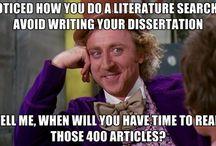 Doktorát, dizertace, demence...