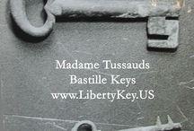 Madame Tussauds / Items of interest relating to George Washington's Liberty Key:  Mount Vernon's Bastille Key