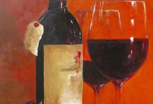 Pintando Botellas De Vino