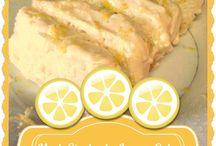 Lemon dessert  for A