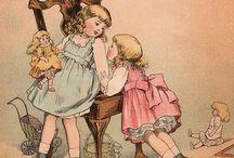 Dolls in children's stories
