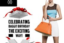 Baggit Birthday Blast / It is #Baggit's Funtabulous & Blasting Birthday! Visit our Stores & be Blown Away by Exciting Surprises just for you.