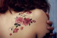 blomster tattoos