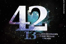 42 / Hitchhiker's Guide / by Derick Winterberg