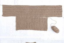Crochet  tops, hats, slippers, etc.