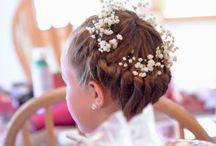 Flower Girl Hair Design