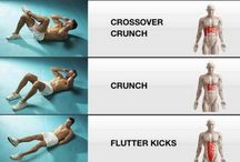 Core Strength / Exercises to strengthen your core: abs, hips, glutes, lower back