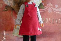 vêtements poupées des enfants