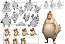 Extrapolation animals characters