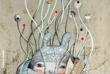 Alice in W:Art/Glenda Sbuerlin / Alice in wonderland (illustrator)