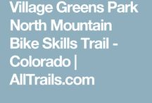 mountain biking trails, CO