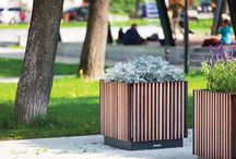 Planters / Planters giving the possibility to have green space even in the public boulevards and busy avenues – simply said in all places where it is hard to grow any plants.