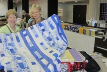 """Quilt Expo / 2014 Quilt Expo _ Outstanding quilt designs with areas to draw inspiration and ideas.  Pinned by """"Sewing With Nancy"""" TV host, Nancy Zieman."""