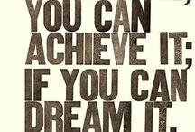 Dream Team board - Dare to Dream, Play to Win