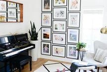 interior - music room