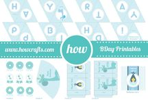 Birthday Party Printables / Assortment of free and premium printables for Birthday Party ready for instant downloads
