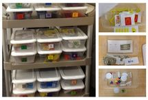 Work Tasks / TEACCH Boxes / Work task boxes help teach independence for students with special needs and autism.