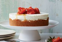 Beautiful Desserts for Valentine's Day / These gorgeous recipes include rich chocolate truffle layer cake and delicate cream puffs with chocolate sauce. / by Food & Wine