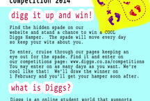 Diggs Competitions / Every now and again we'll run a competition that affords you the chance to win a #Diggs Hamper - a hamper designed to make your student week/weekend that much easier, cooler, funner, happier and designed to put you into your 'happy zone'.