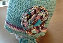 Crochet caps - my work