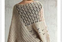 Вязание: пончо, накидки