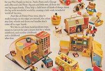 My collection love FP toys pre1972 / by Parna Henry
