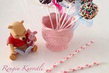 Colorful Cakepops / Rengarenk Kek Topları