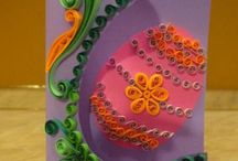 Quilling Easter