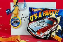 Hot Wheels Party Ideas / Gear up your son's birthday for a first-place winning party! Get all the little racer's revved for fun with awesome ideas for food, games, decorations and more! / by Party City