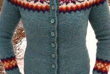 Stickning: tröjor