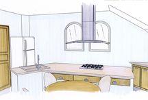 Dessins d'architecture / Retrouvez le travail de nos architectes dans la création de vos projets