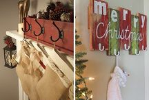 DIY Stocking hangers