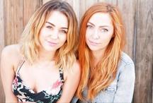 Miley & Brandi Cyrus / Miley Cyrus and her sister Brandi / by AnythingDiz