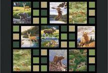 Panel Blocks quilt
