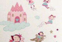 Habitaciones infantiles para los peques de la casa / Ideas para dormitorio de niño y niña, habitaciones infantiles, telas y artículos textiles para los peques de la casa.