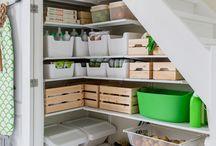 Storage under stair