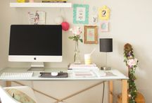 Decoração escrivaninha