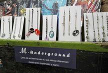 M - Underground / Línea de accesorios para ti que piensas diferente! No hay límites, hay ideas únicas!