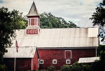 "Red Barns / Enjoy this Fine Art RED BARN Art Show. :) I LOVE barns!  Especially red ones!  Enjoy my red barn art and other great red barn art & photos from my fellow artists at Fine Art America.  Criteria for being included in the Red Barn Art Show:  1) Art/Photo must be on Fine Art America 2) Barn must be RED (not just the roof or doors) 3) Artist/Photographer MUST have the ""pin it"" button visible on their art page 4) I must LOVE the image. :) Click ""LIKE"" or ""REPIN"" to vote for your favorites!"