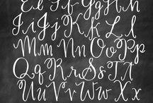 Fonts / write, font, beauty
