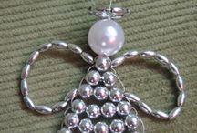Ange avec perles
