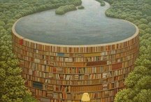 books / Books I did read,books I want to read,  papers, and a lot of pictures with books.<3<3<3 / by Bente Bressen