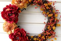 wreaths and other wall decorates