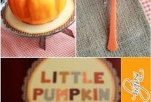Baby shower little pumpkin