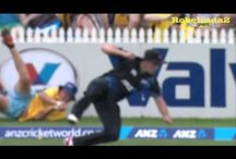 Cricket Amazing Catches / Catches win matches and you gotta take some blinders in the field to do that. Here are some of the amazing cricket catches by players, audience and ball boys around the boundary.
