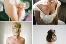 My big fat wedding -  Hair, make-up & nails / Luscious curly locks with natural flower touches or a messy big bun.Nothing too stiff and normal. A girl wants to let her hair down at a party