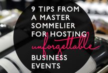 Wine events and parties