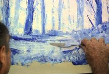 Ζωγραφική με σπατουλα