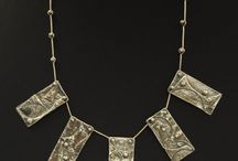 Necklaces / Uniquely crafted necklaces made from sterling sliver and mixed media metals