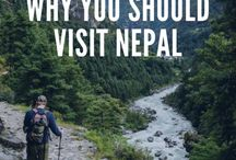 Travel | Nepal / A collection of travel inspiration and travel tips to plan a holiday trip to Nepal.